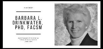 765x370 Barbara L. Drinkwater, PhD, FACSM