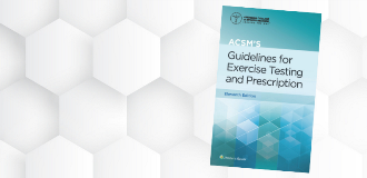 ACSM Guidelines 11th edition cover image