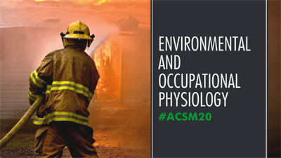 Annual Meeting 2020 Environment and Occupational Physiology