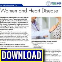 Women Heart Disease Download