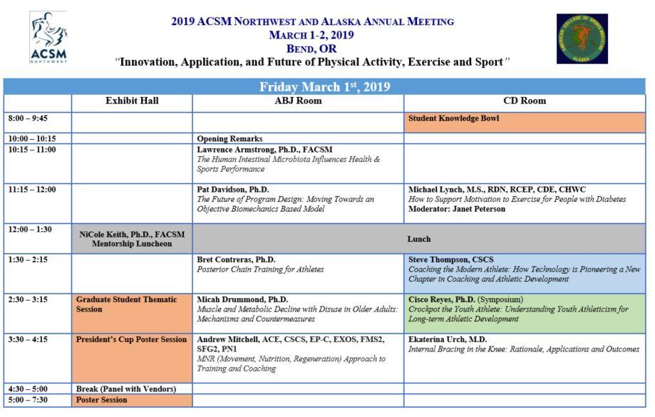Schedule & Speakers