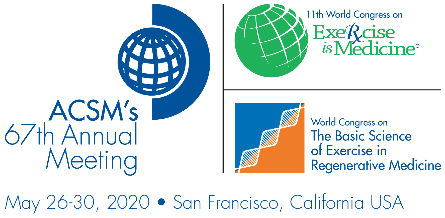 ACSM's Annual Meeting Logo