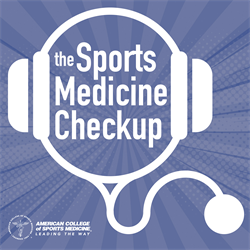 sports medicine checkup podcast artwork