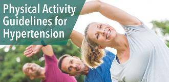 physical activity guidelines hypertension blog
