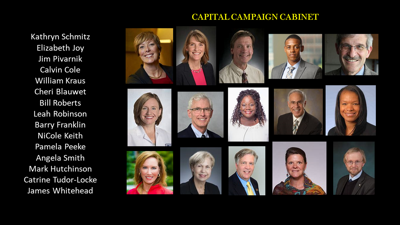 ACSM Capital Campaign Volunteer Leadership
