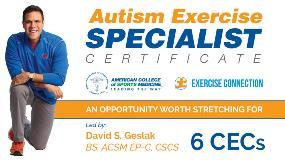 ACSM Autism Specialist Course