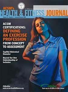 ACSM Health Fitness Journal 2020