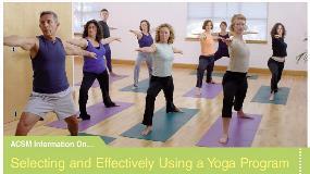 ACSM Yoga