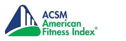 American Fitness Index ACSM