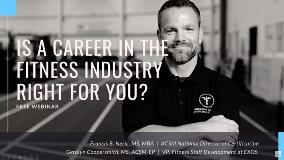 Career in Fitness FAQ