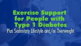 Exercise Type 1 Diabetes Sedentary