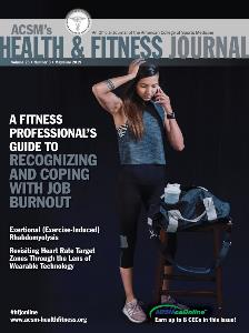 ACSM Fitness Journal May-June 2019