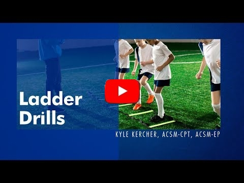 How To Ladder Drills Video ACSM