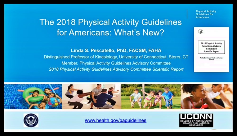 ACSM Physical Activity Guidelines Course