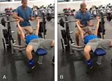 YMCA Bench Press Test ACSM
