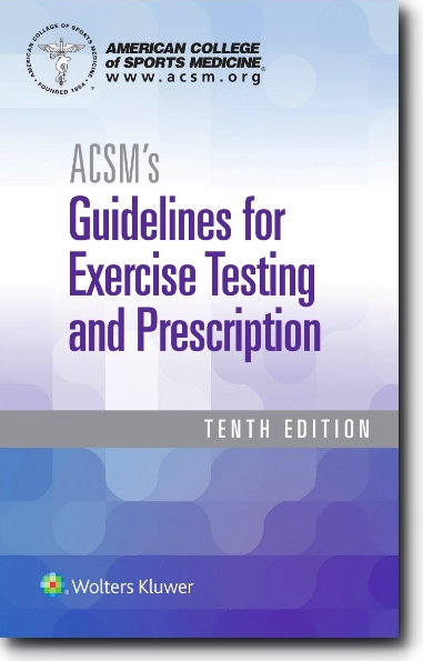 ACSM Guidelines 10th Ed
