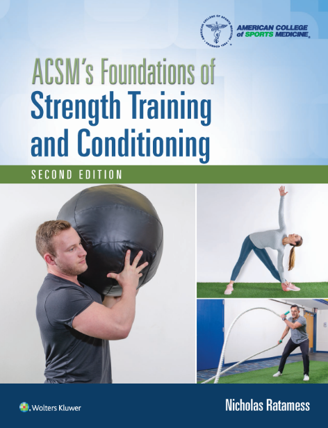 Foundations of Strength Training and Conditioning