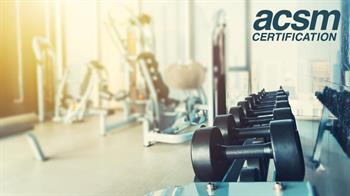 ACSM Zoom background_Certification gym