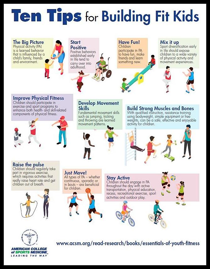 10 Tips For Building Fit Kids Download